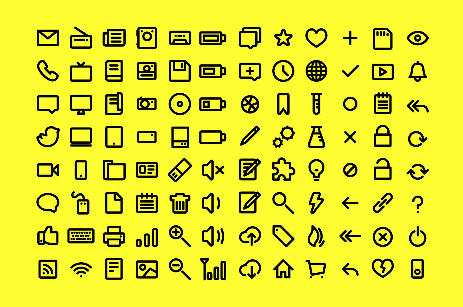 Eight-Point Icons